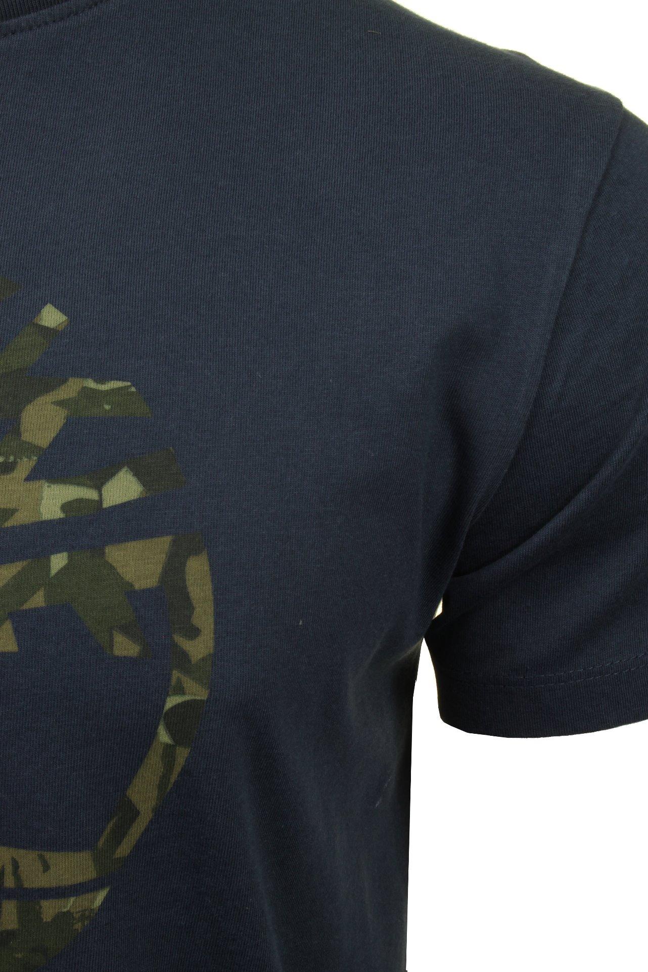Timberland-Mens-Jersey-T-Shirt-039-Kennebec-Tree-Tee-039-Short-Sleeved thumbnail 7