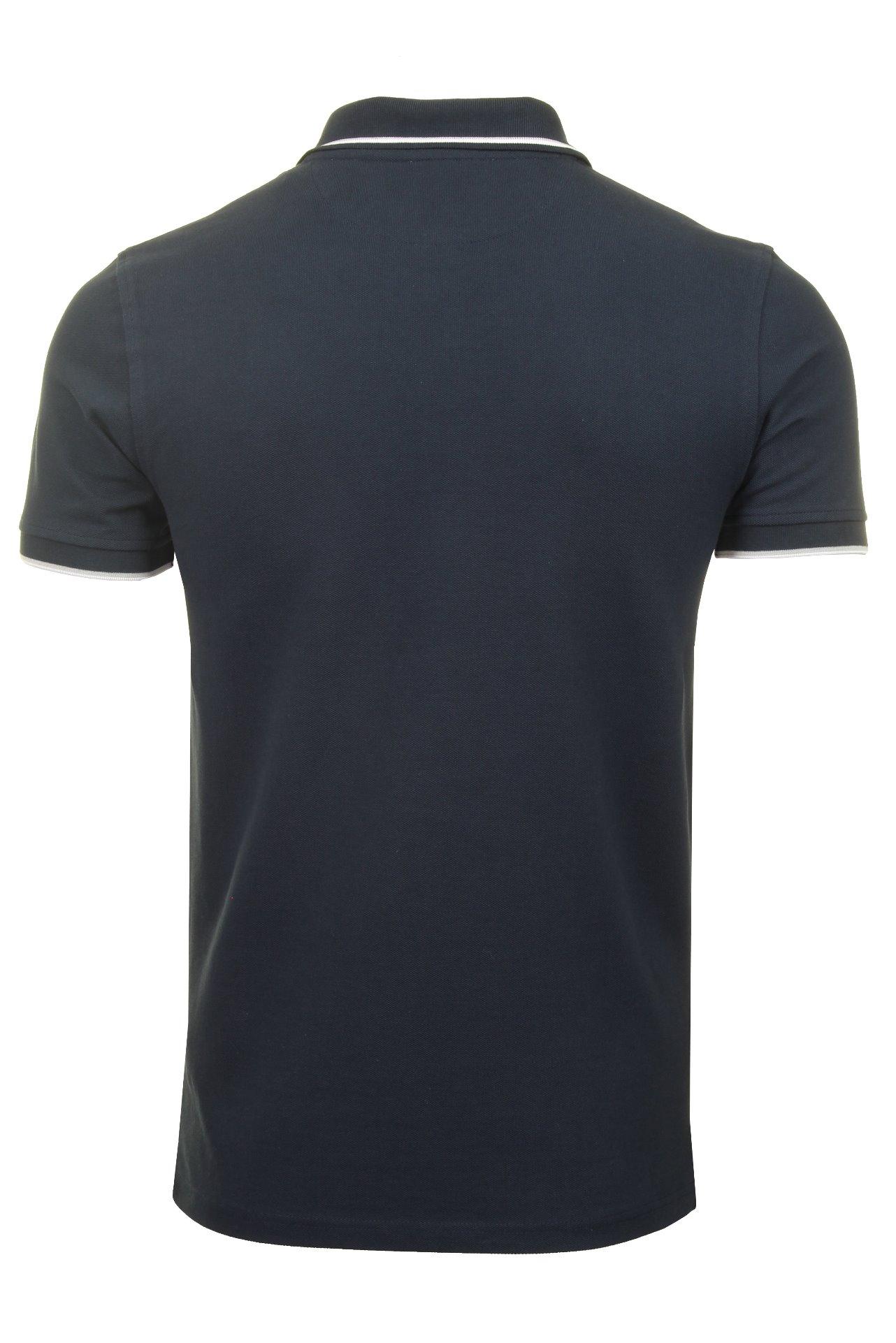 Timberland-Para-Hombres-Polo-Camiseta-039-Polo-Pique-con-punta-de-rio-Millers-Manga-corta-039 miniatura 5