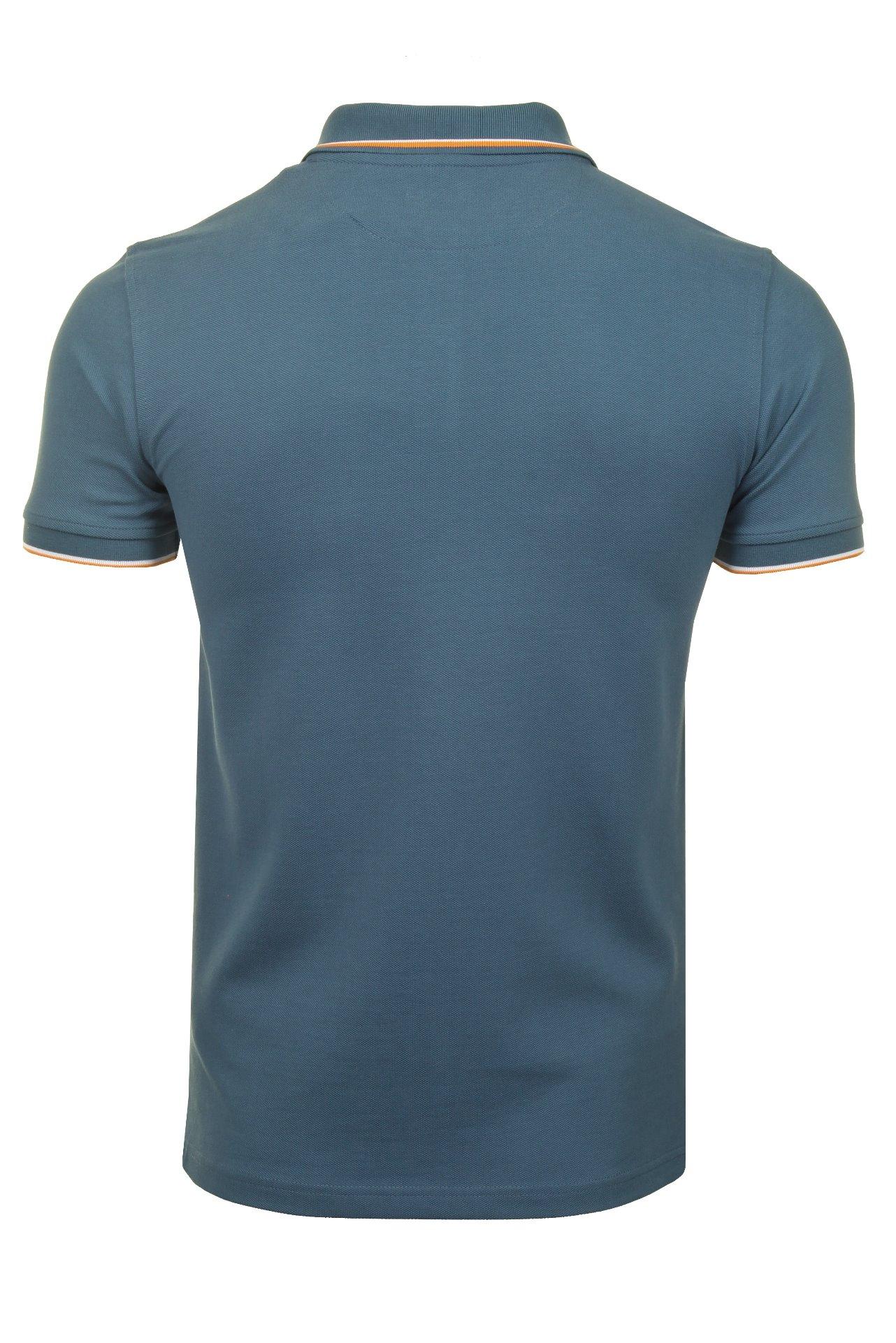 Timberland-Para-Hombres-Polo-Camiseta-039-Polo-Pique-con-punta-de-rio-Millers-Manga-corta-039 miniatura 8