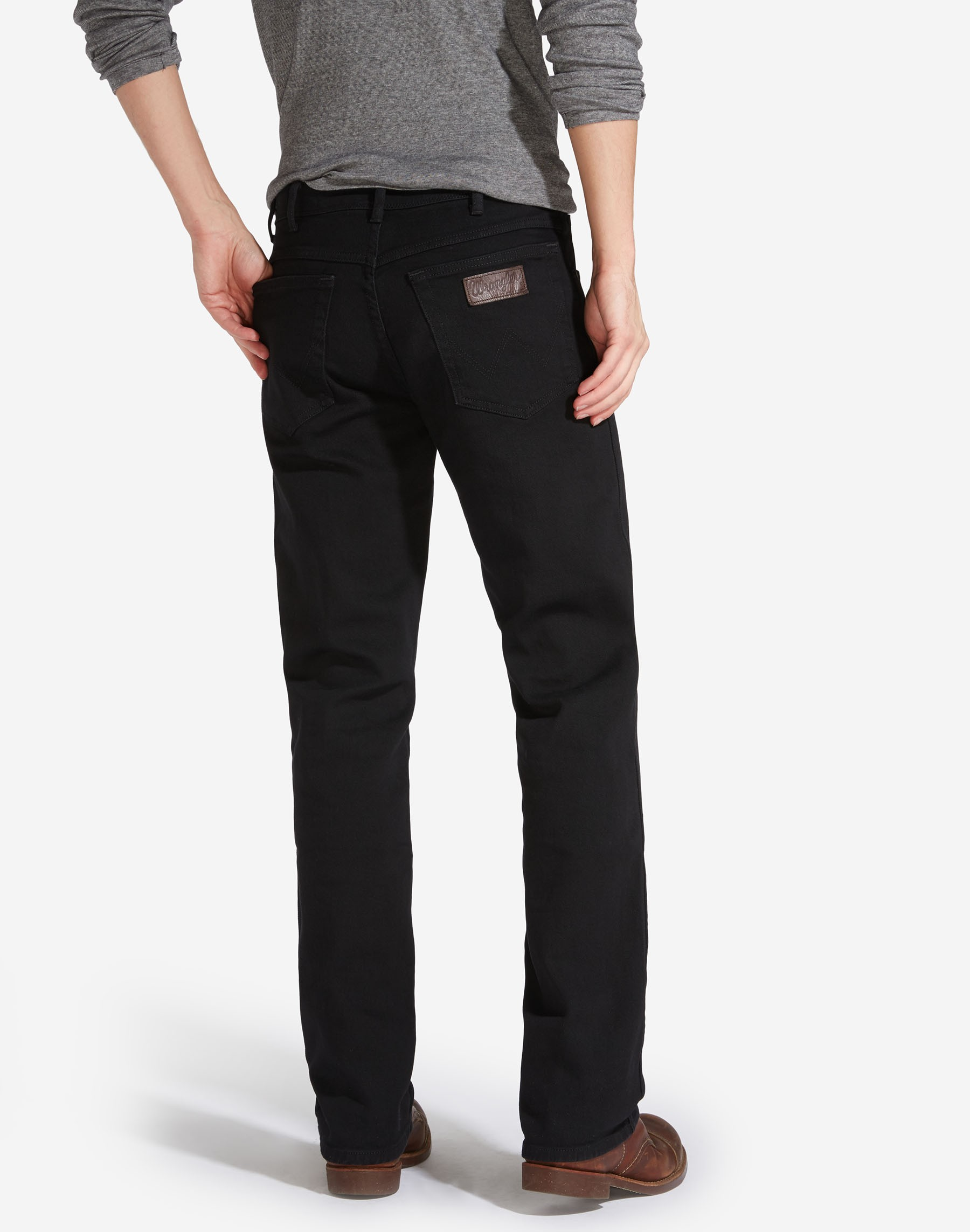 Mens-Wrangler-039-Texas-039-Jeans-Denim-Stretch-Original-Straight-Fit thumbnail 5