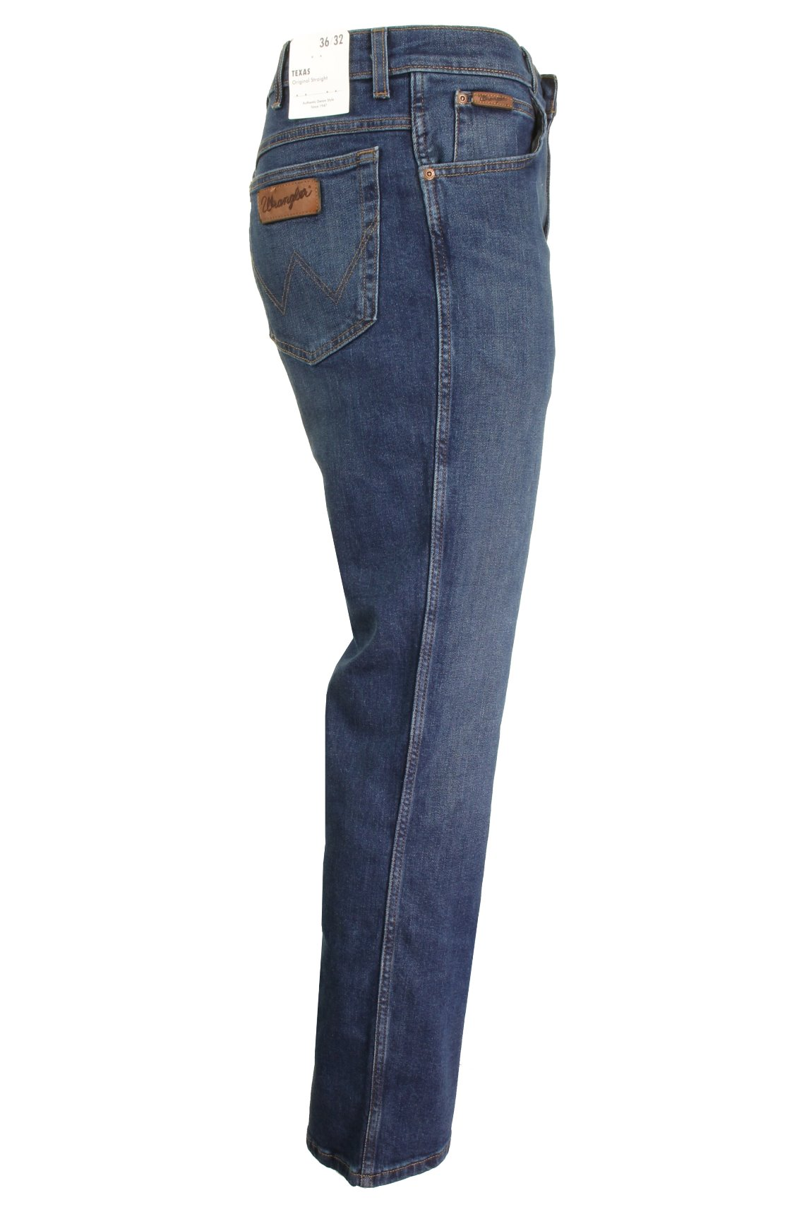 Mens-Wrangler-039-Texas-039-Jeans-Denim-Stretch-Original-Straight-Fit thumbnail 13