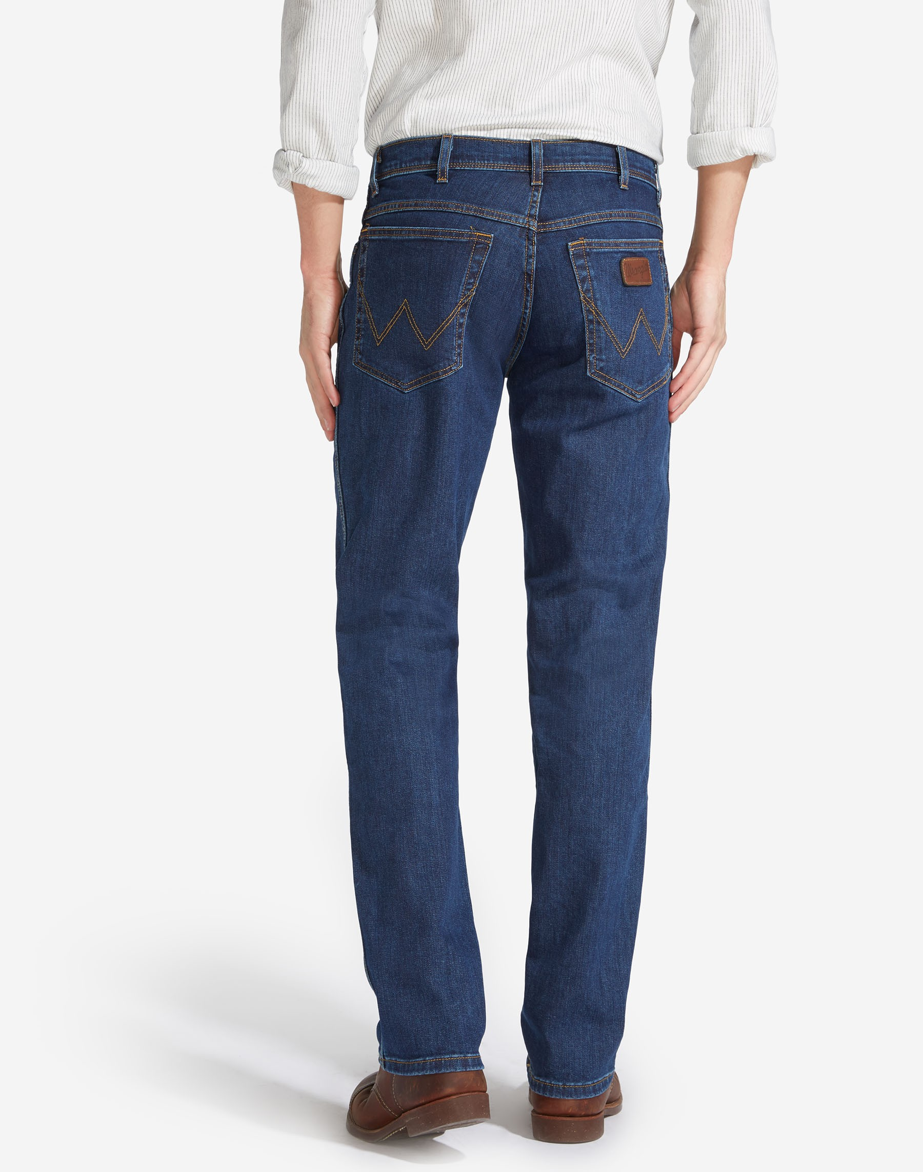 Mens-Wrangler-039-Texas-039-Jeans-Denim-Stretch-Original-Straight-Fit thumbnail 11