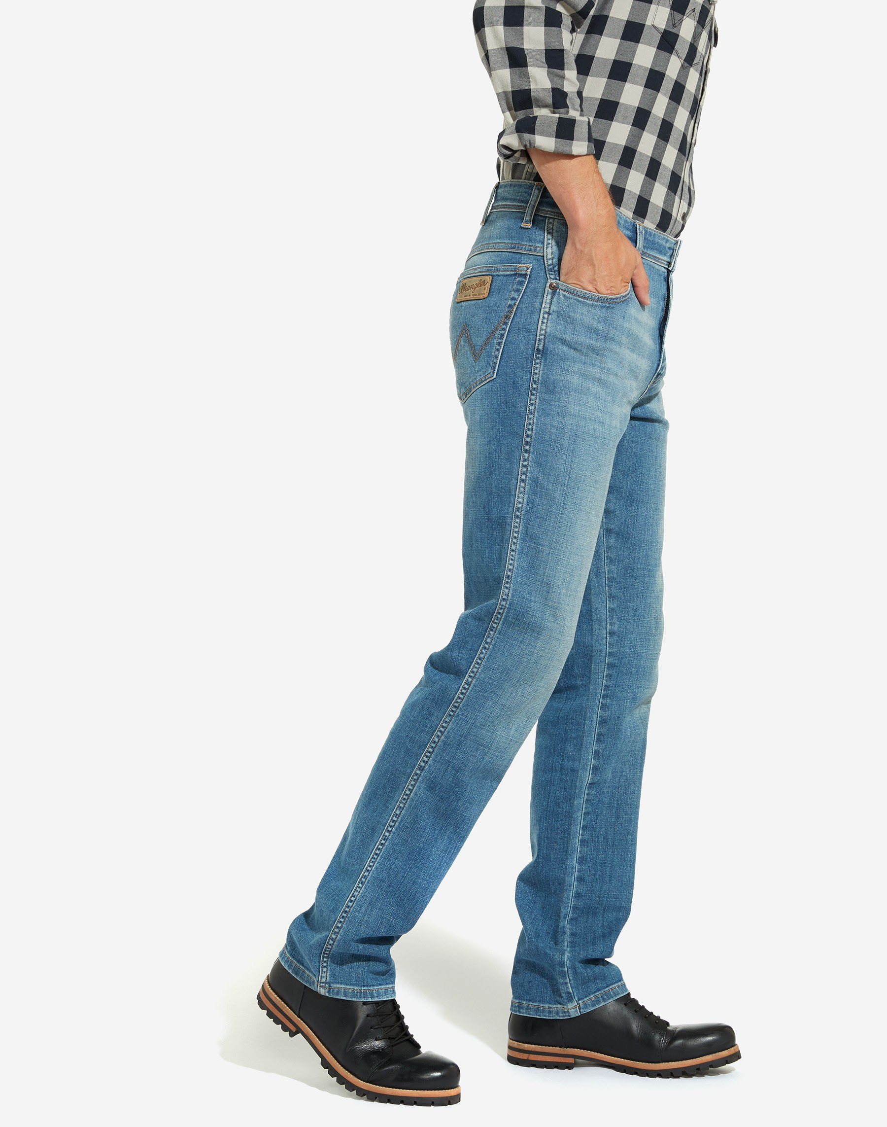 Mens-Wrangler-039-Texas-039-Jeans-Denim-Stretch-Original-Straight-Fit thumbnail 16