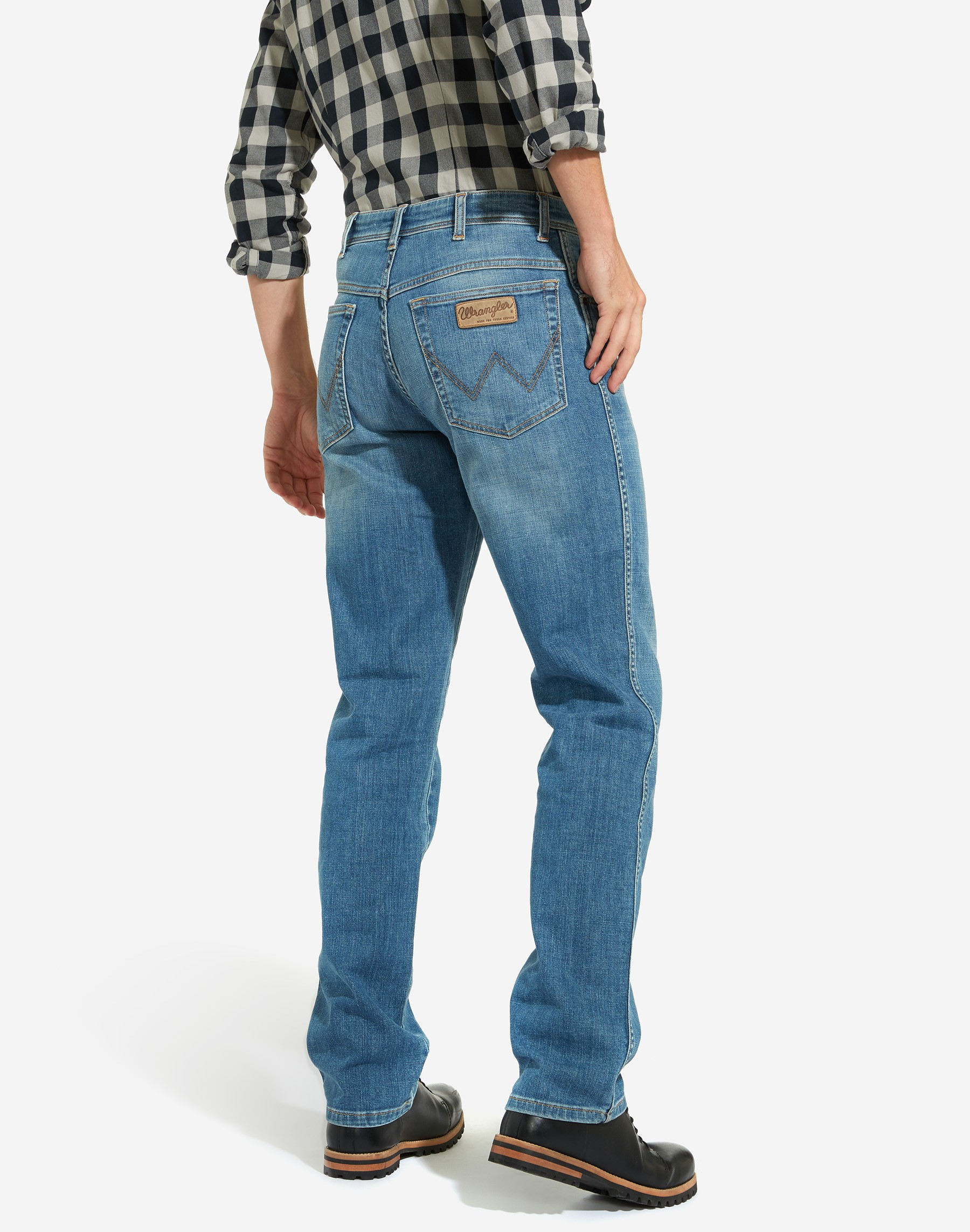 Mens-Wrangler-039-Texas-039-Jeans-Denim-Stretch-Original-Straight-Fit thumbnail 17