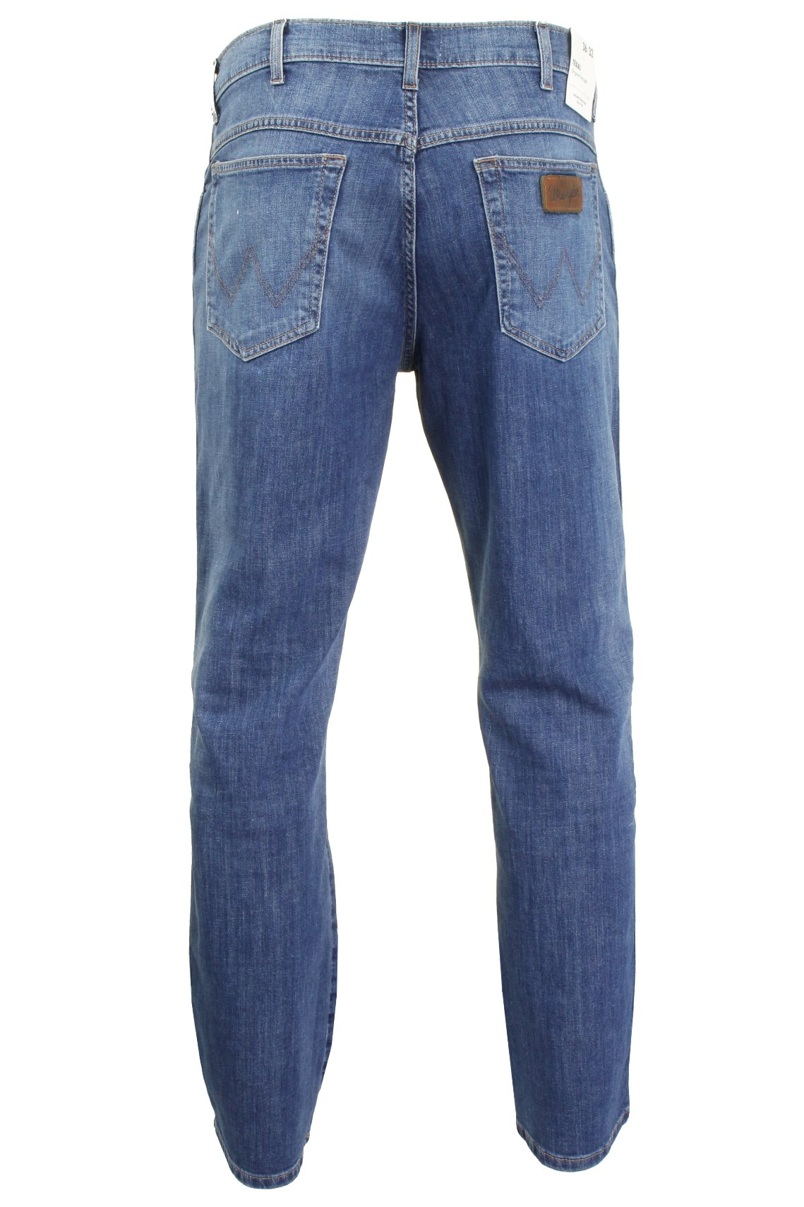 Mens-Wrangler-039-Texas-039-Jeans-Denim-Stretch-Original-Straight-Fit thumbnail 8