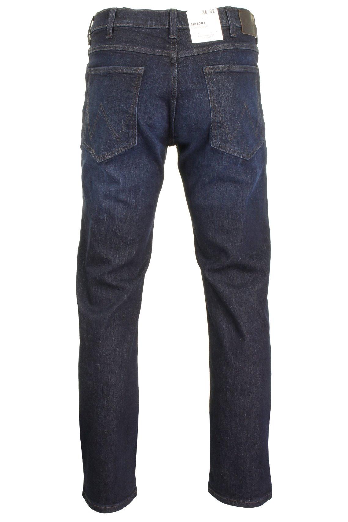 Da-Uomo-Wrangler-039-Arizona-039-jeans-Stretch-Denim-Classic-Fit-Dritto miniatura 9