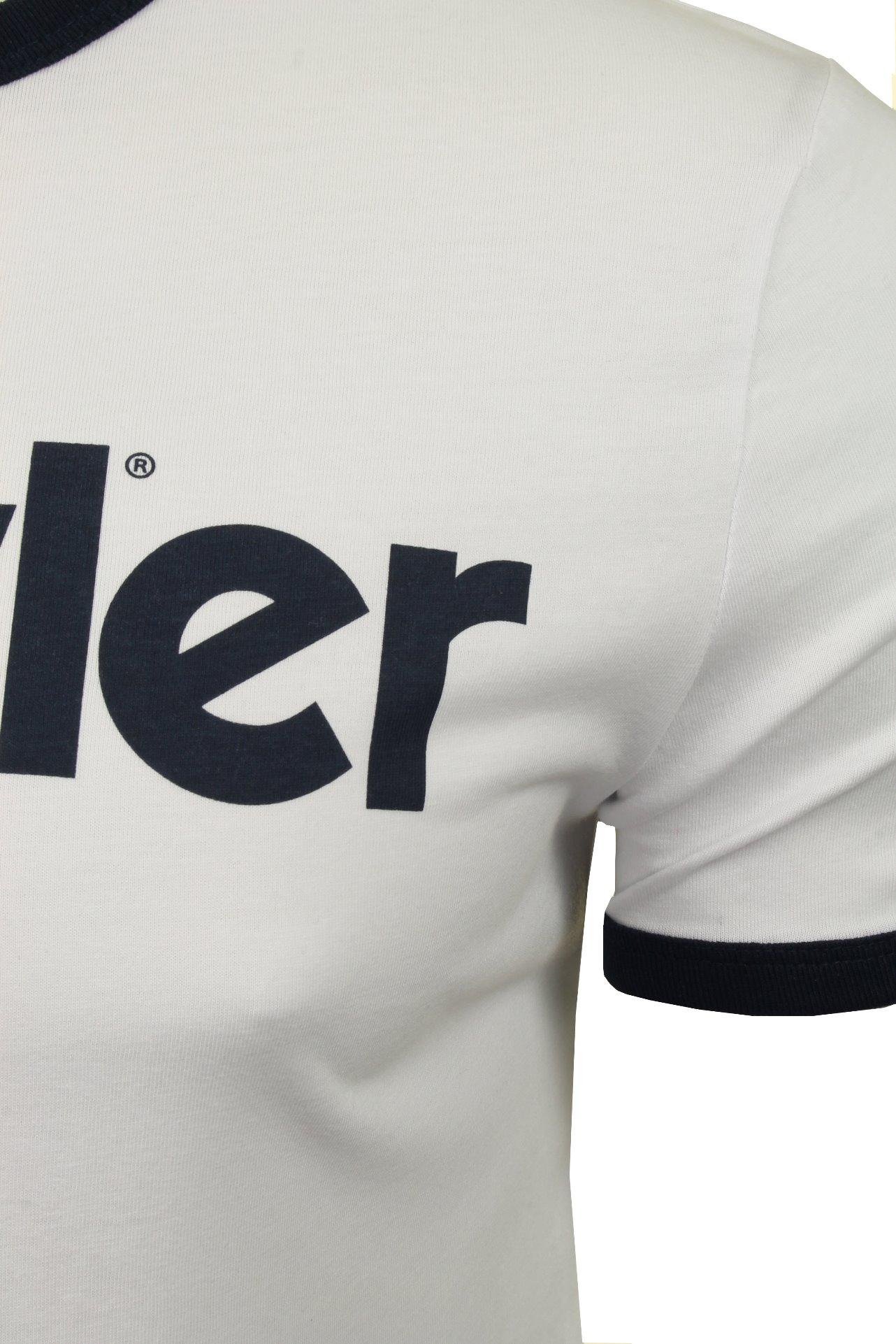 WRANGLER-034-Kabel-Tee-039-T-shirt-a-manches-courtes miniature 7