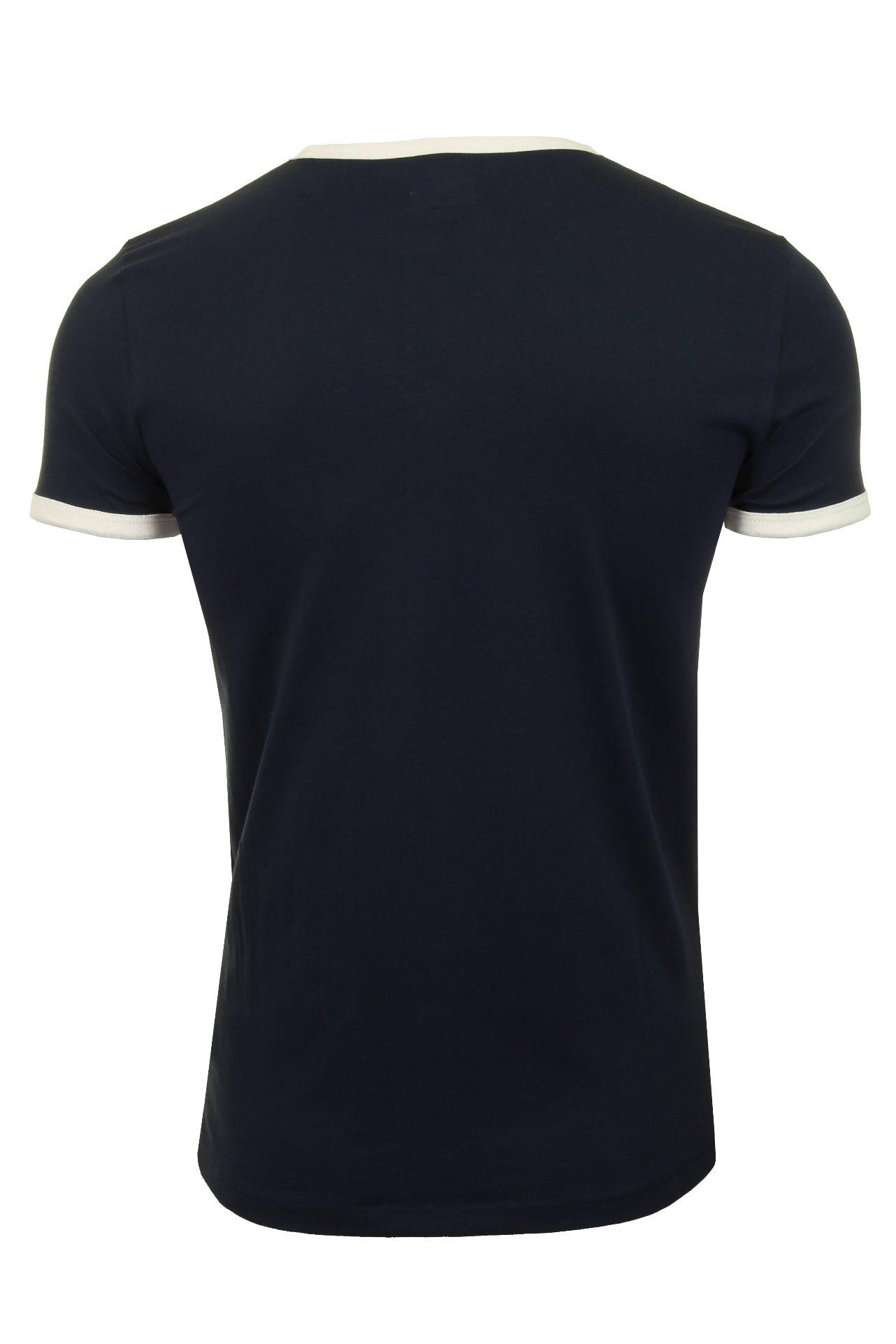 WRANGLER-034-Kabel-Tee-039-T-shirt-a-manches-courtes miniature 5