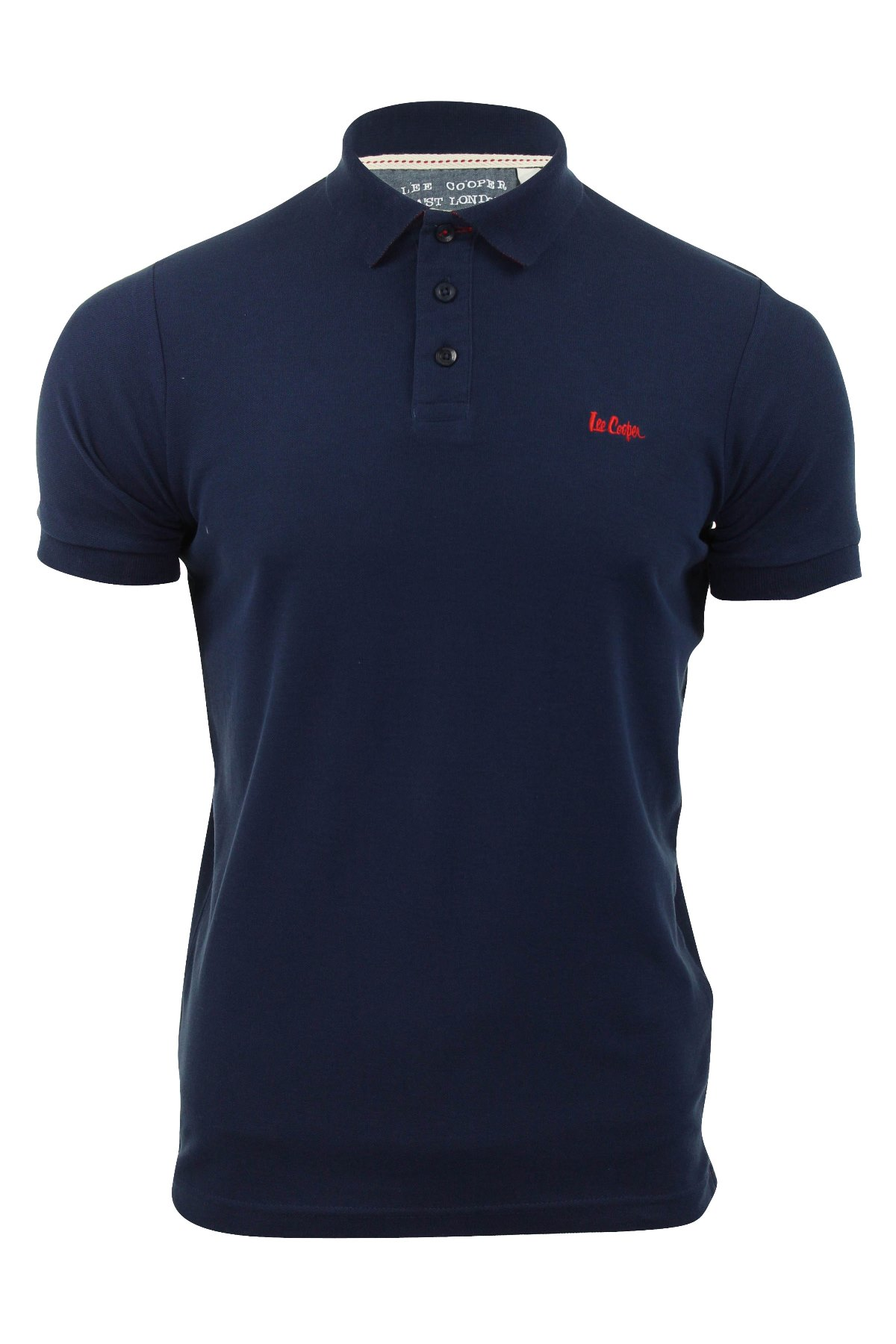 917d3460 Mens Pique Polo Shirt Lee Cooper Premium Range 'Woburn' T Shirts | eBay