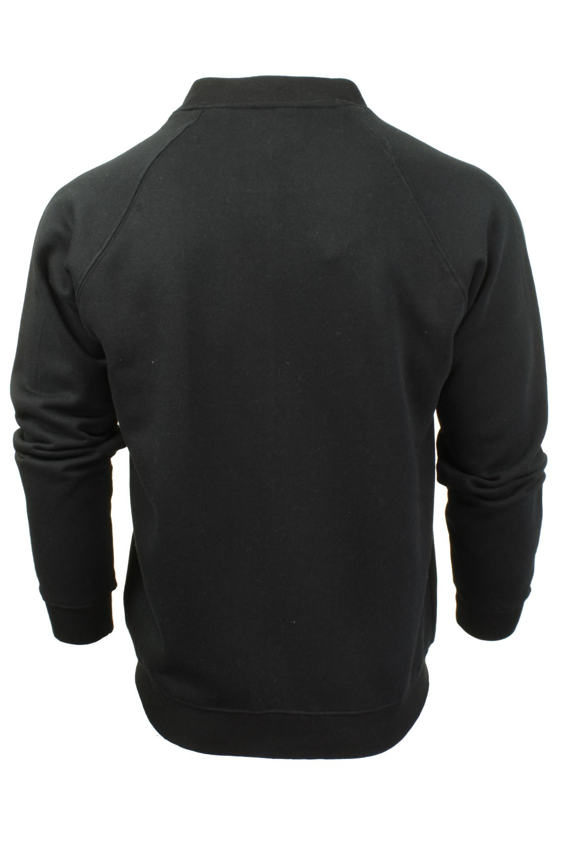 Mens-Zip-Through-Sweatshirt-Jumper-by-Xact-Long-Sleeved thumbnail 5