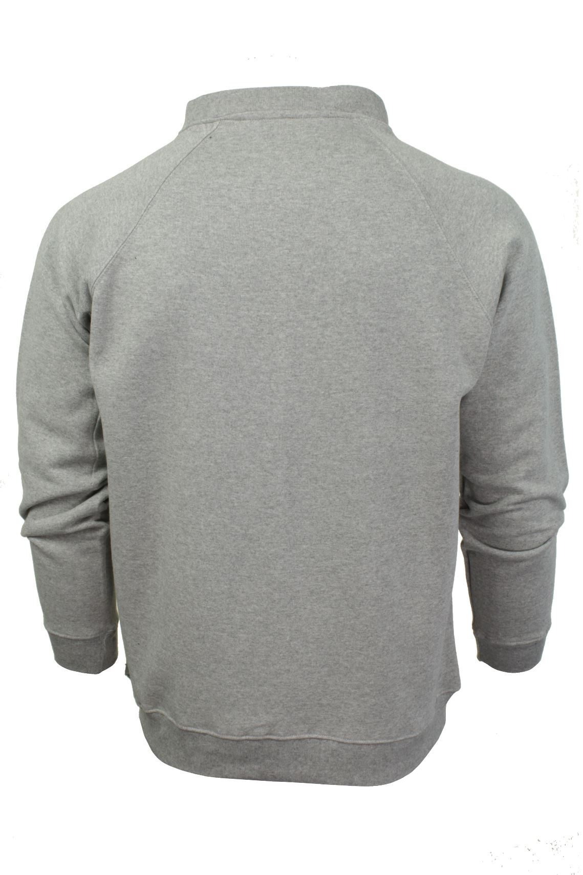 Mens-Zip-Through-Sweatshirt-Jumper-by-Xact-Long-Sleeved thumbnail 11