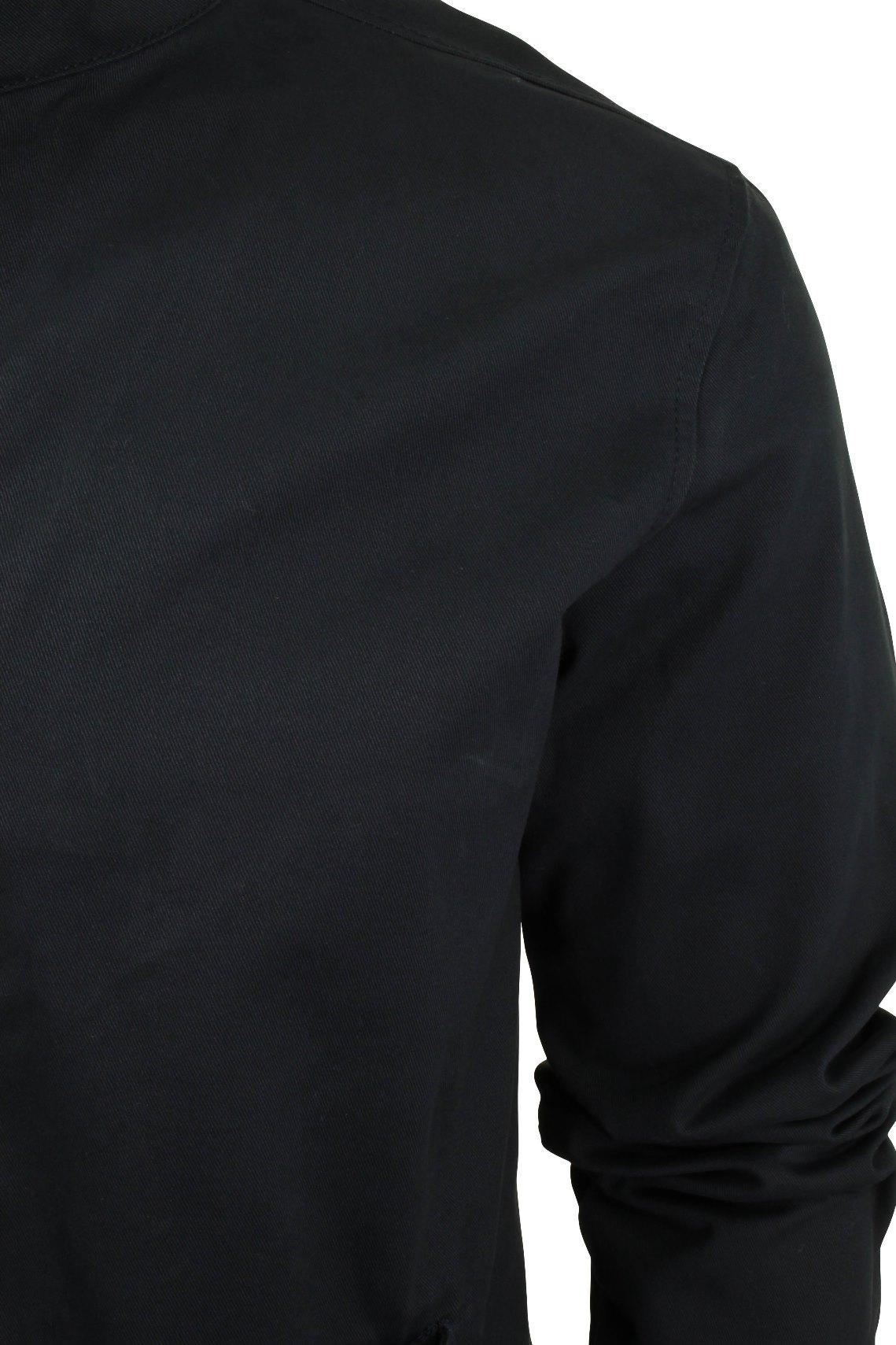 Xact-Mens-Classic-Harrington-Jacket-Coat-MOD thumbnail 7