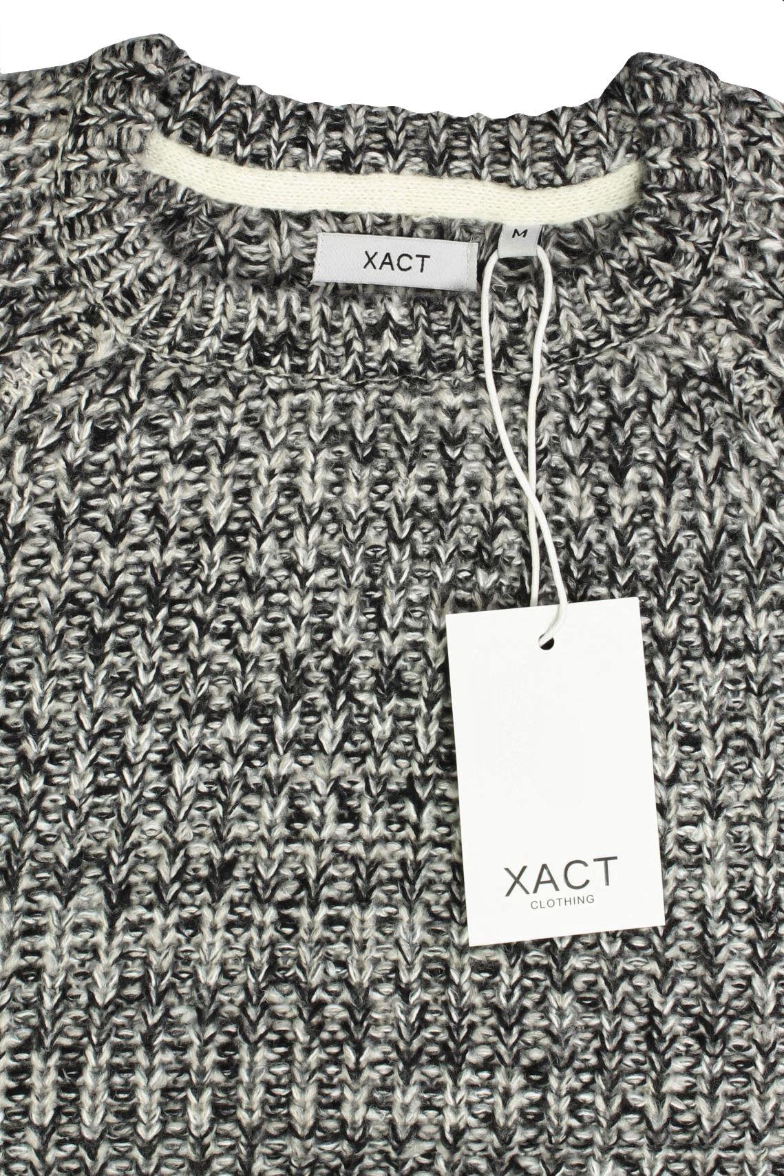 Xact-Mens-Jumper-Fashion-Chunky-Fisherman-Fleck-Knit-Long-Sleeve thumbnail 6
