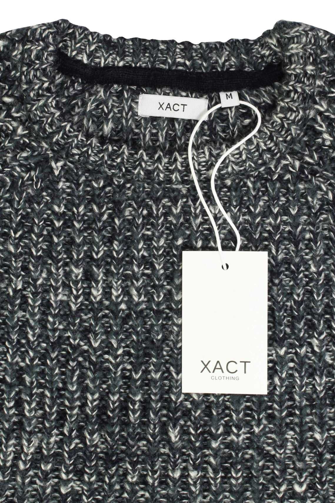 Xact-Mens-Jumper-Fashion-Chunky-Fisherman-Fleck-Knit-Long-Sleeve thumbnail 10