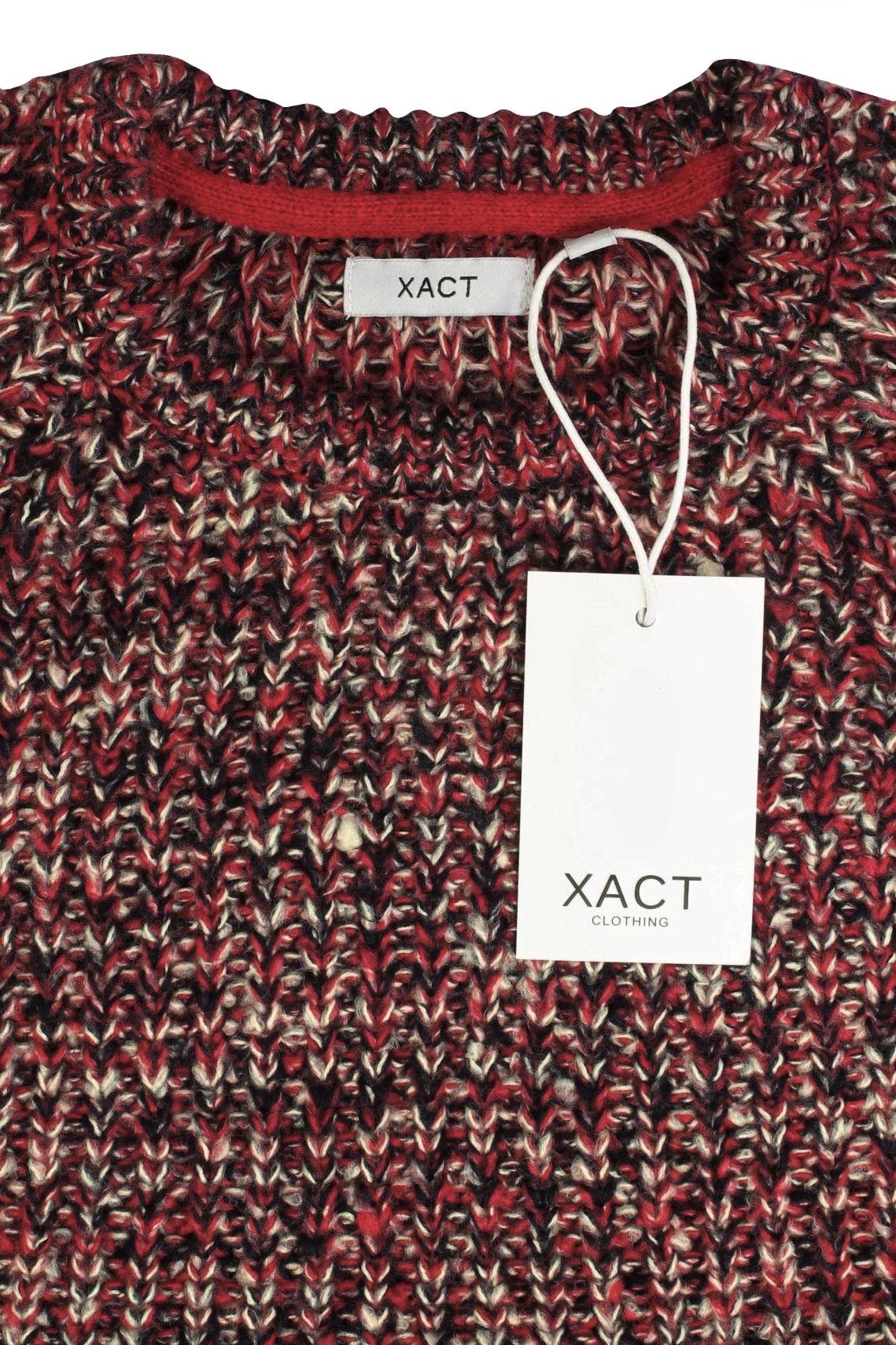 Xact-Mens-Jumper-Fashion-Chunky-Fisherman-Fleck-Knit-Long-Sleeve thumbnail 14