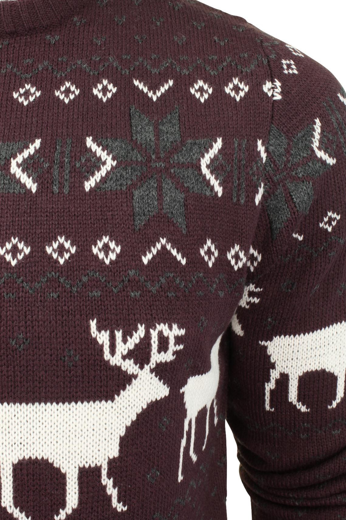 Jersey-Para-Hombre-De-Navidad-Navidad-Reno-Ciervo-Por-Xact miniatura 4