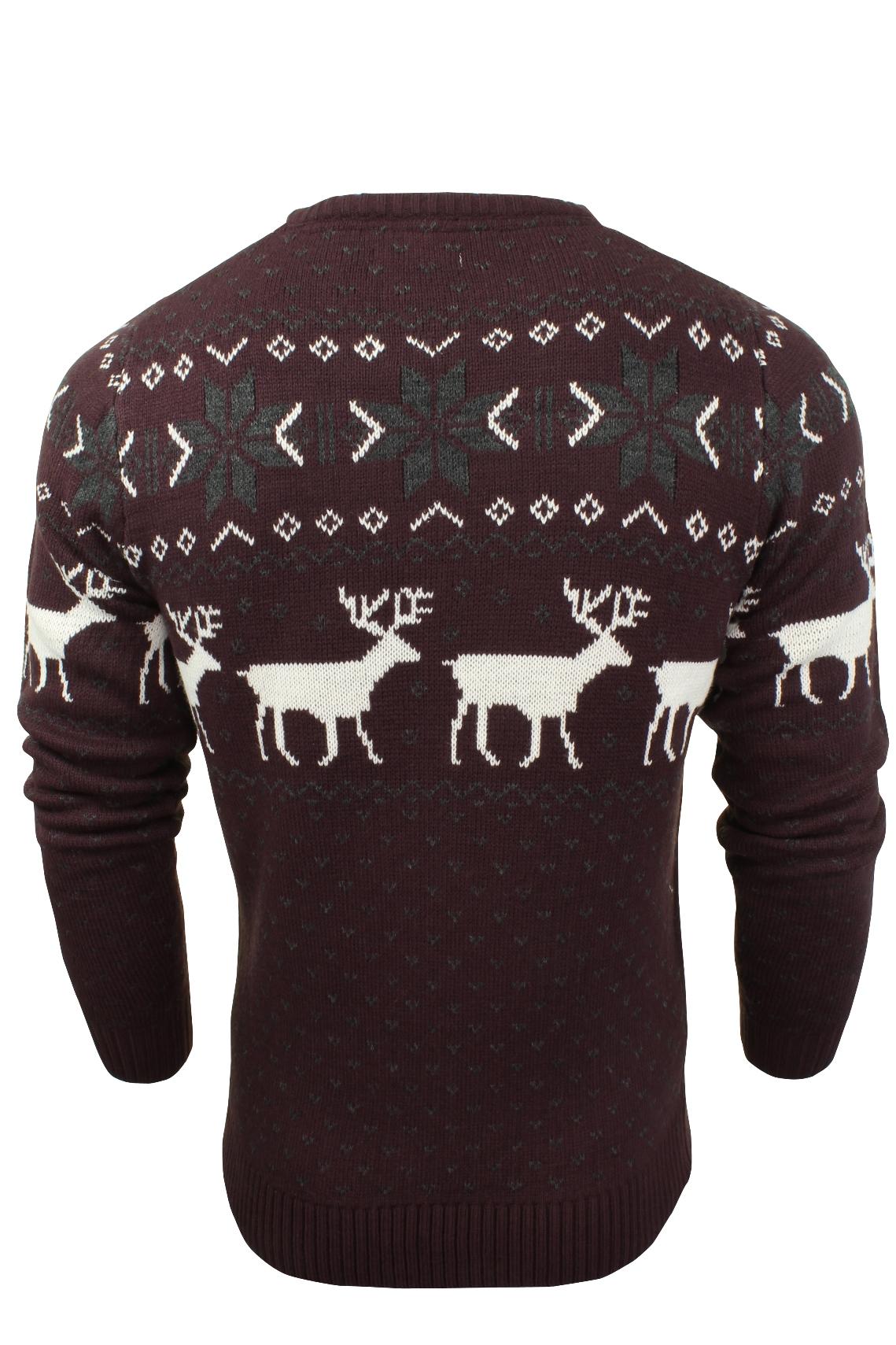 Jersey-Para-Hombre-De-Navidad-Navidad-Reno-Ciervo-Por-Xact miniatura 5