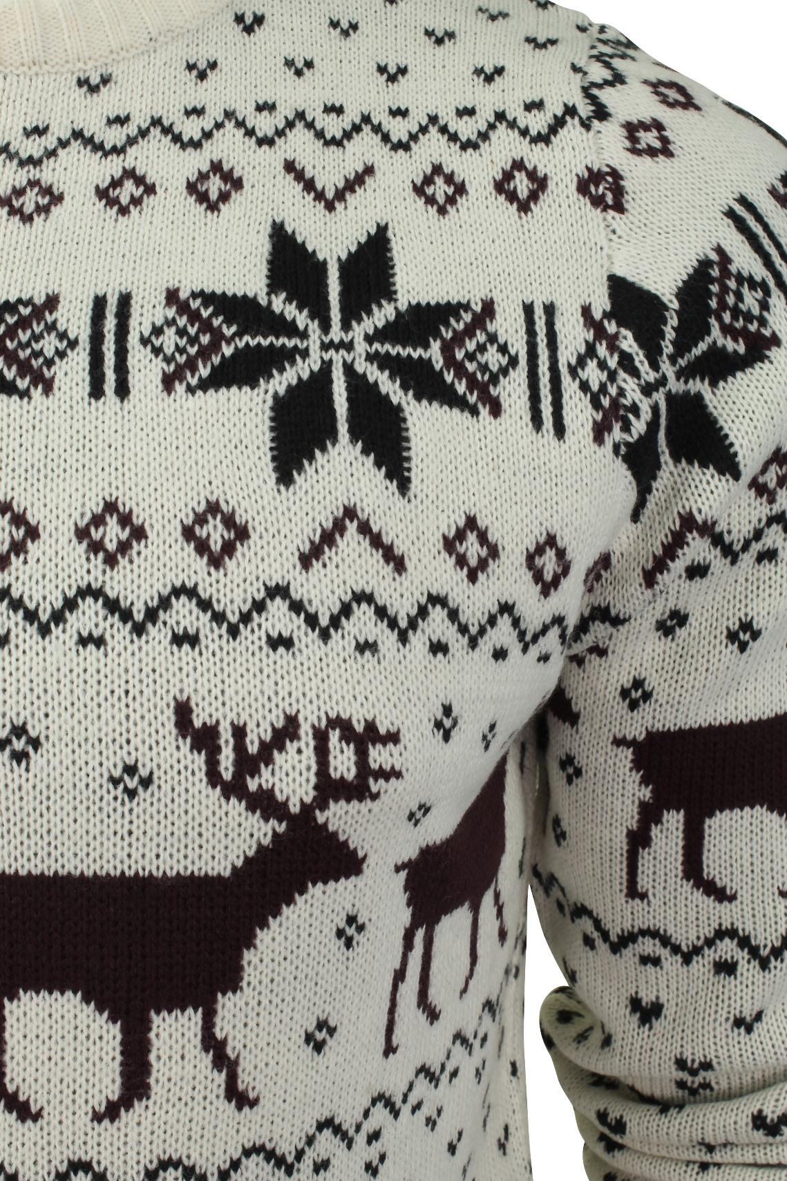 Jersey-Para-Hombre-De-Navidad-Navidad-Reno-Ciervo-Por-Xact miniatura 7