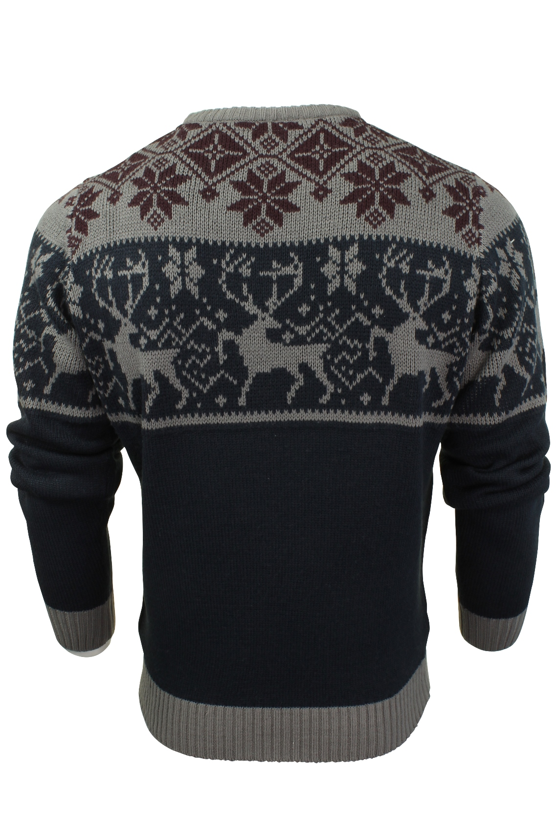 Jersey-Para-Hombre-De-Navidad-Navidad-Reno-Ciervo-Por-Xact miniatura 11