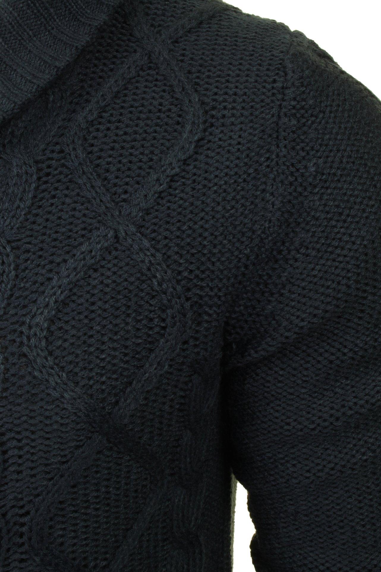Xact-Mens-Shawl-Neck-Cardigan-Xmas thumbnail 4