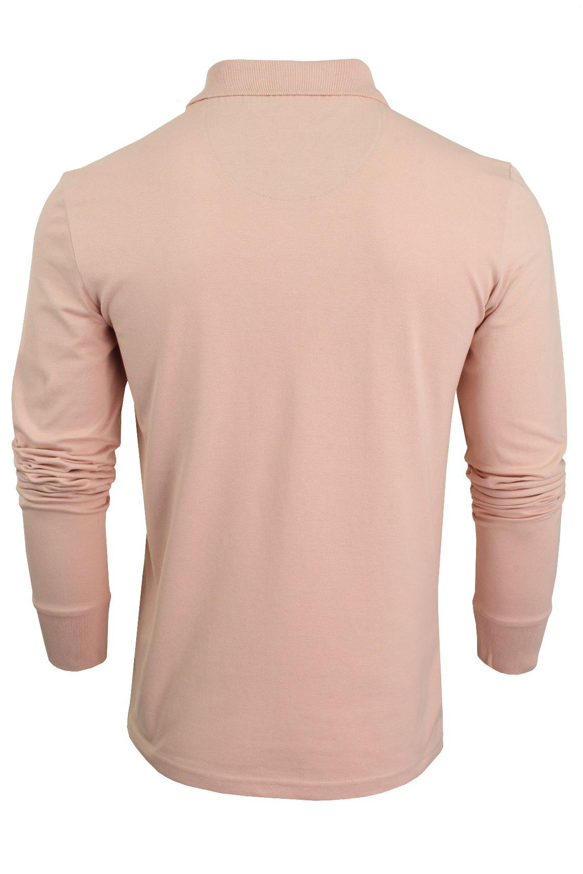 Camiseta-Polo-Para-Hombre-Por-Xact-pique-de-manga-larga miniatura 17