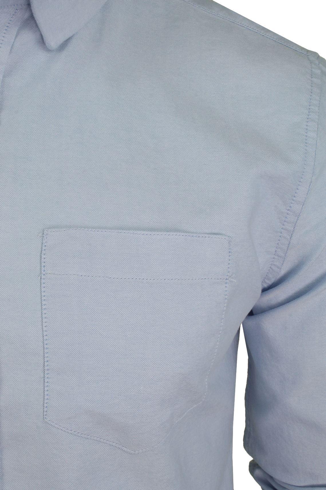 Xact-Long-Sleeved-Oxford-Shirt thumbnail 4