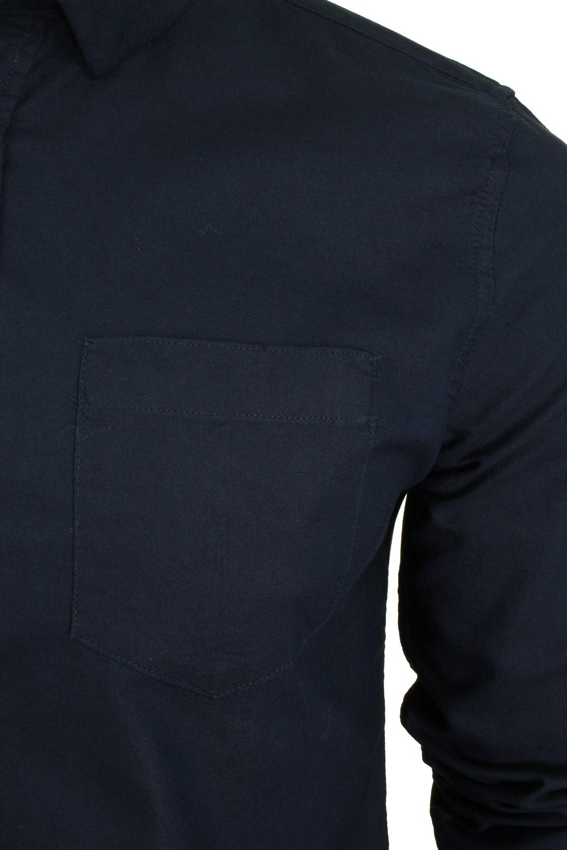 Xact-Long-Sleeved-Oxford-Shirt thumbnail 7