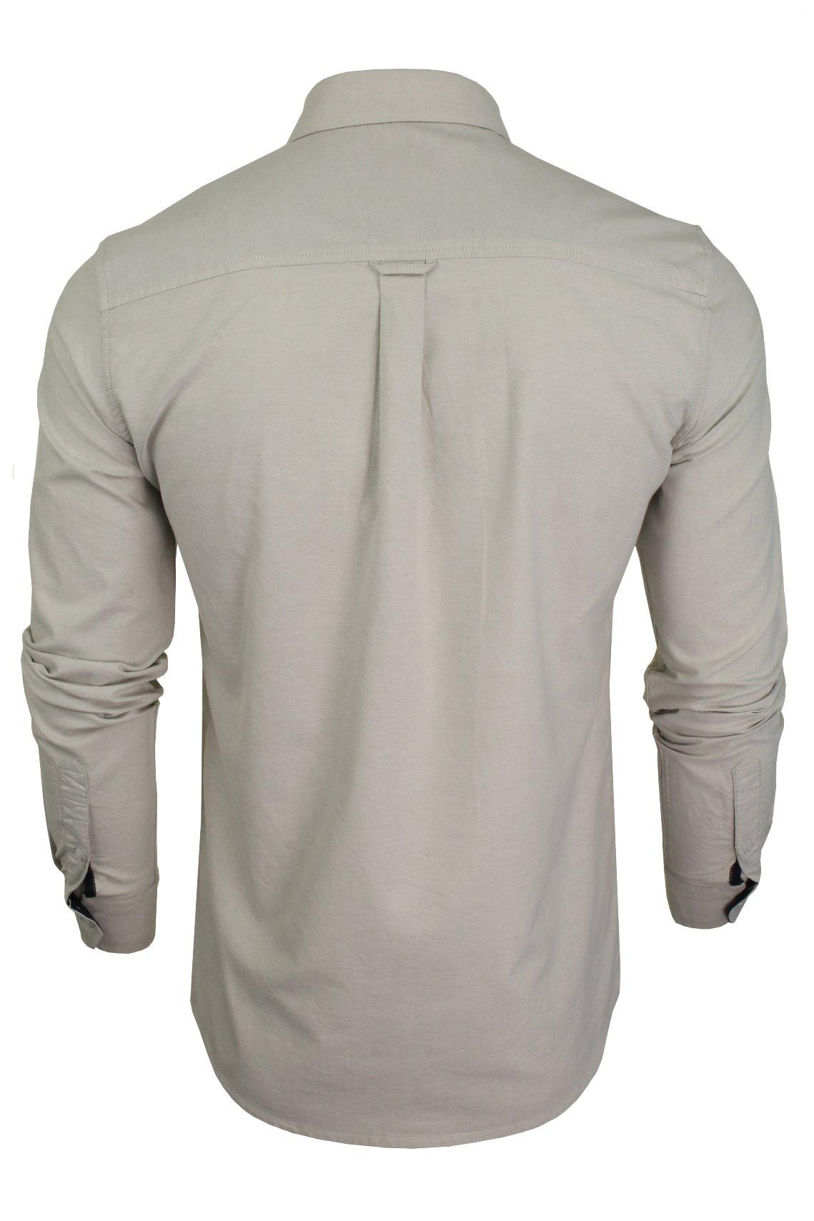 Xact-Long-Sleeved-Oxford-Shirt thumbnail 11
