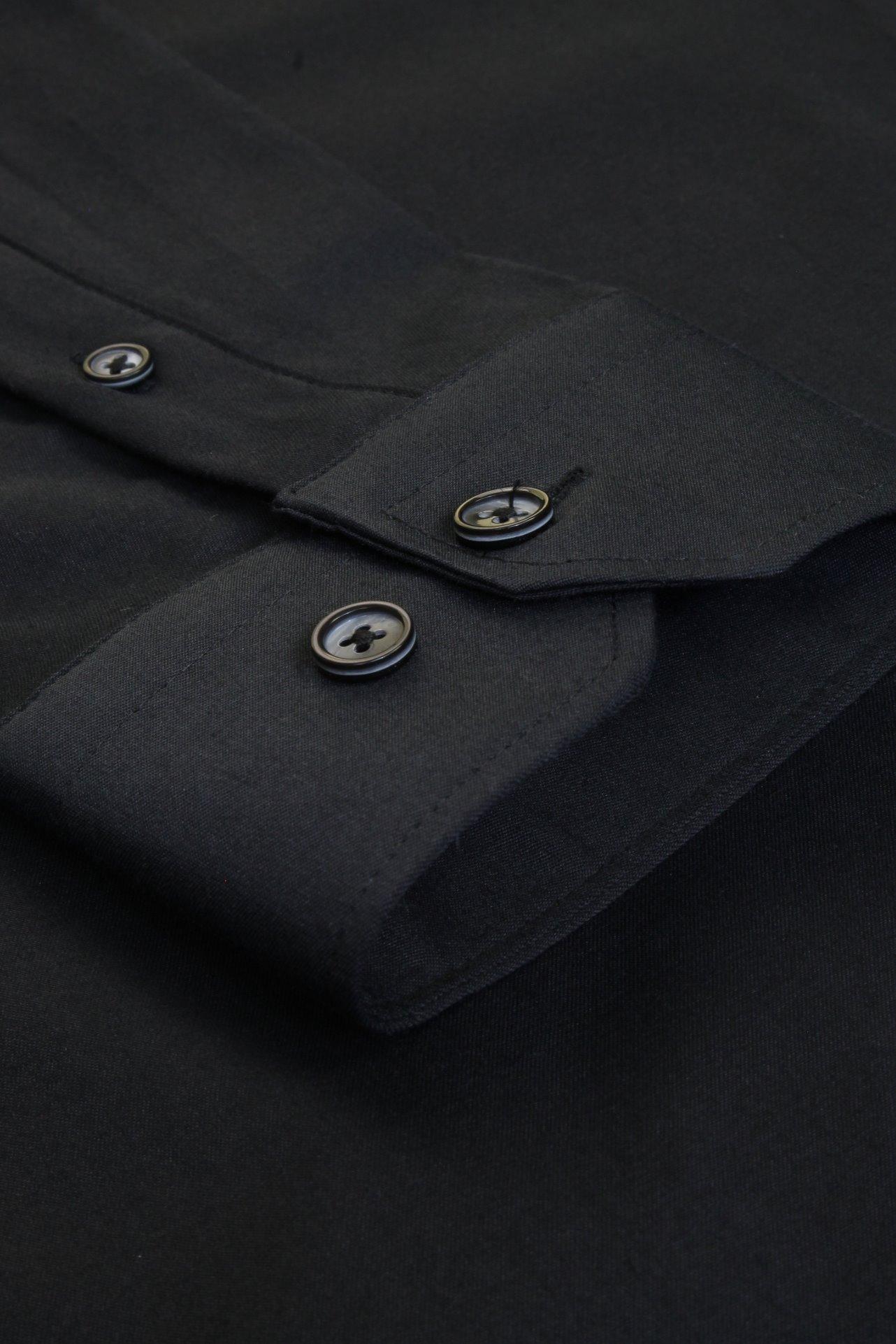 Xact-Mens-Long-Sleeved-Poplin-Stretch-Shirt-Slim-Fit miniatuur 8