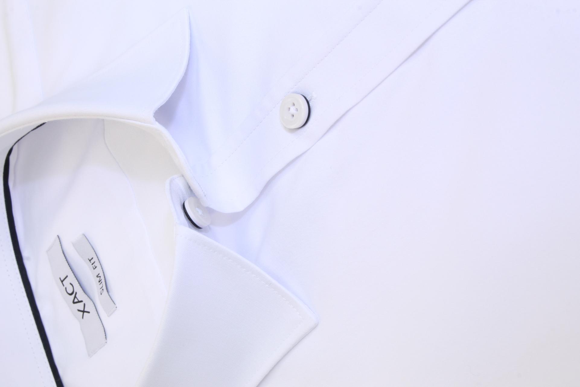 Xact-Mens-Long-Sleeved-Poplin-Stretch-Shirt-Slim-Fit miniatuur 15