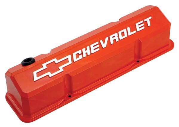 PROFORM 141-261 GM LS Valve Covers Slant Edge Orange