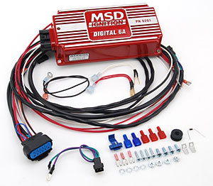 msd ignition kit digital 6a distributor wires coil harness 94 95 rh ebay com