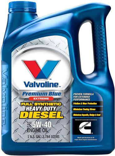 valvoline 774038 premium blue extreme full synthetic diesel motor oil sae 5w 40 ebay. Black Bedroom Furniture Sets. Home Design Ideas