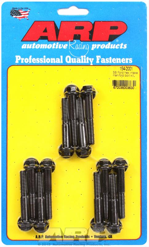 Details about ARP 154-2001 Intake Manifold Bolts - Ford Small Block  260/289/302/351W - Black