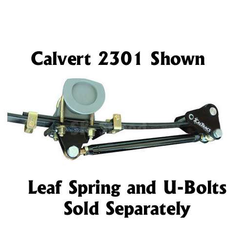 Calvert Racing 3400 CalTrac Leaf Spring Traction Bars 99 15 Chevy