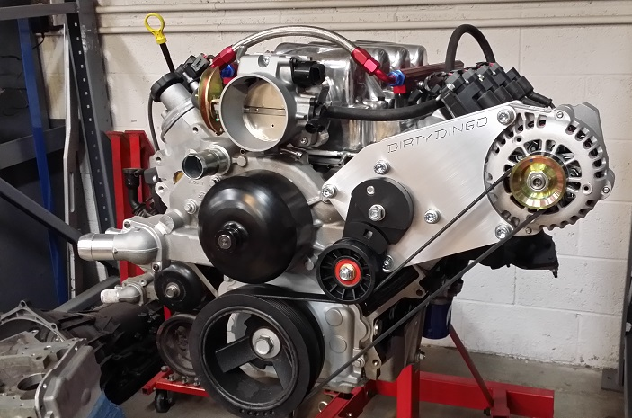 dirty dingo alternator bracket for electric water pump 98