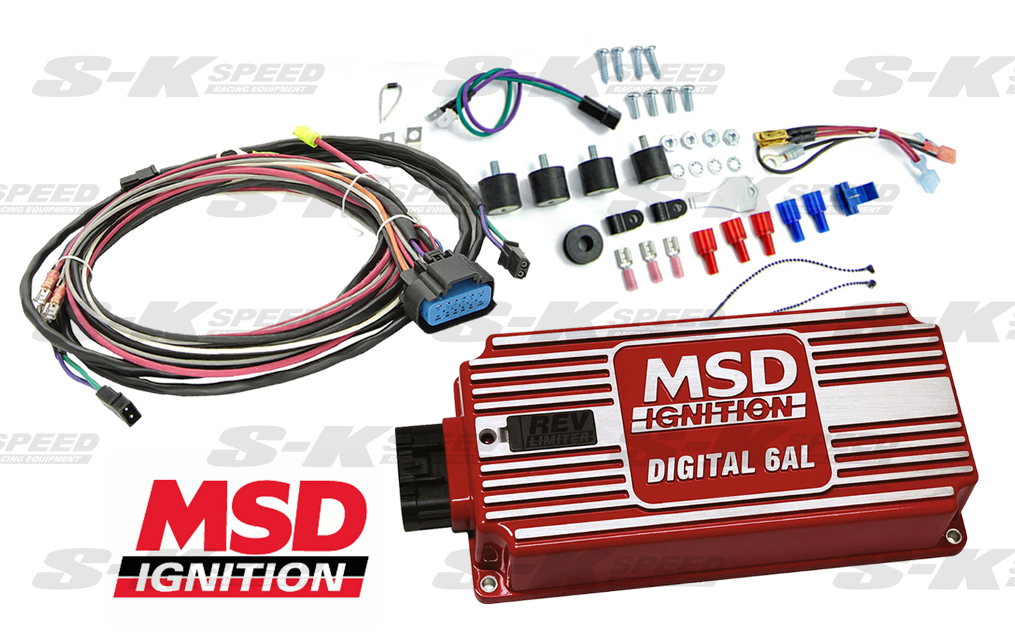 Msd 6425 Digital 6al Cd Multiple Spark Universal Ignition