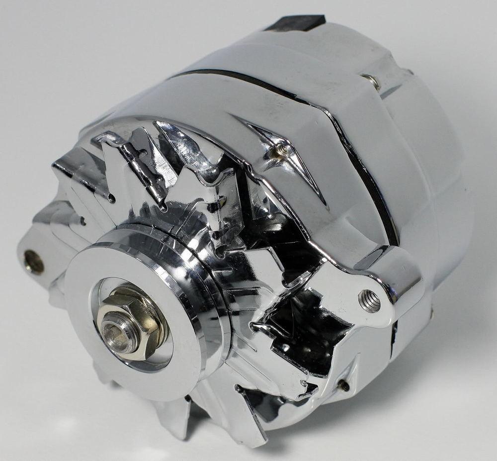 37127X Alternator GM 10si Chrome 100Amp Int Regulator | eBay
