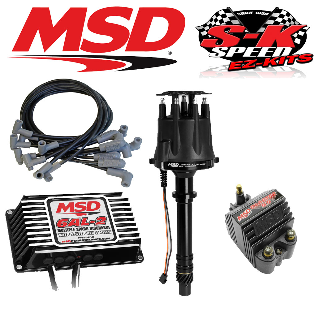 Prime Msd 91503 Ignition Kit Digital 6Al 2 Distributor Wires Coil Small Wiring Cloud Hisonuggs Outletorg