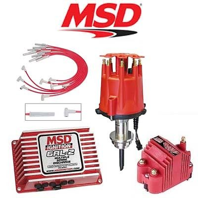 msd 9154 ignition kit digital 6al 2 distributor wires coil. Black Bedroom Furniture Sets. Home Design Ideas