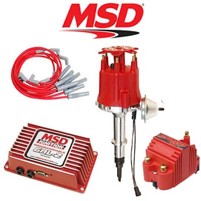 Msd 9259 Ignition Kit Programmable 6al Distributor  Wires