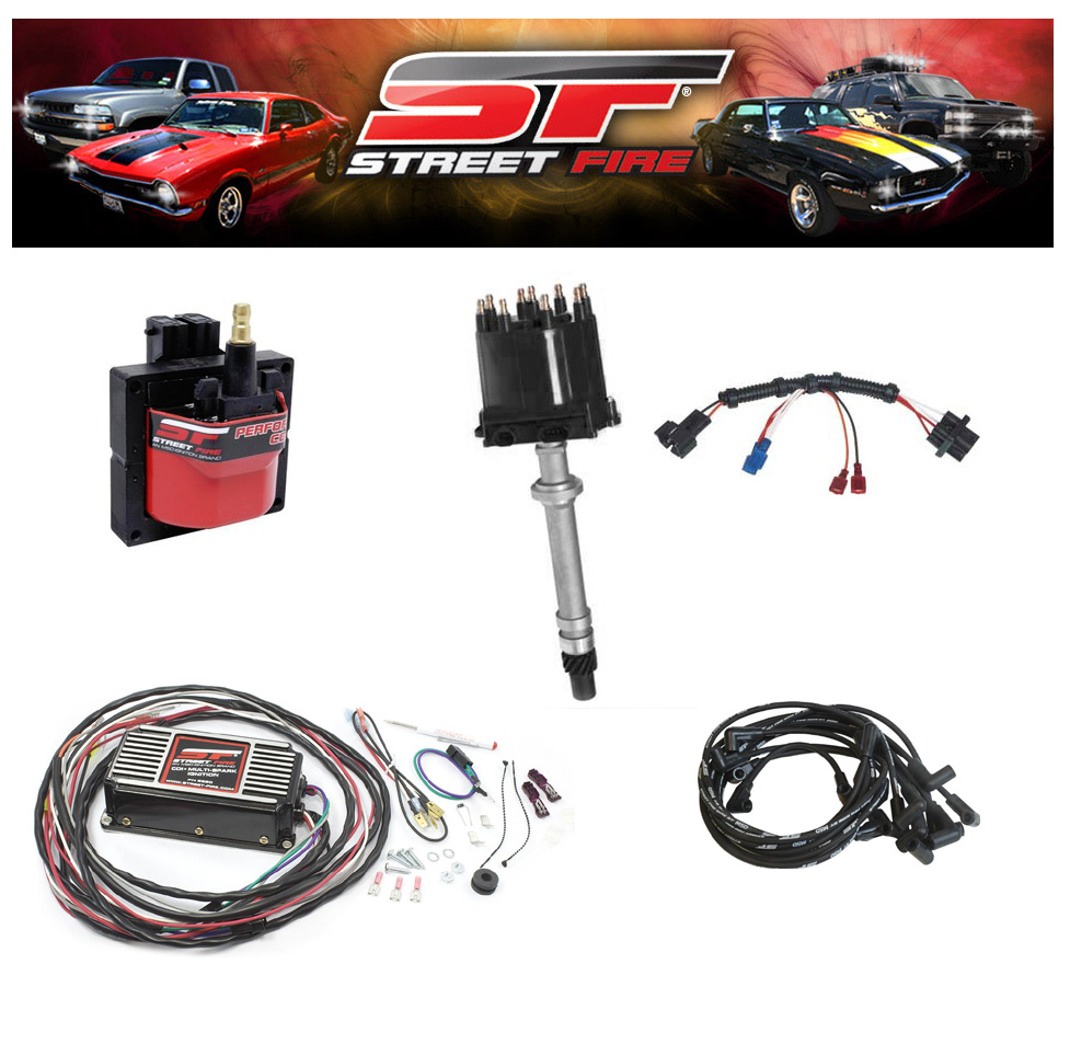 Msd 9993 Streetfire Ignition Kit 88 92 Camaro Firebird V8 Chevy 1500 Module Wiring Harness Distributor Box Wires