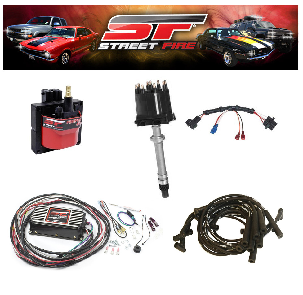 MSD 9997 Streetfire Ignition Kit 87-95 GM Pickup/SUV 454 Distributor ...