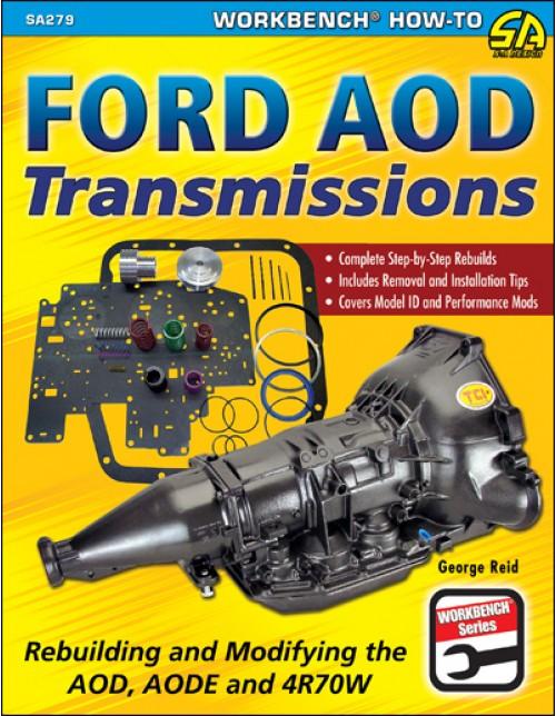 sa designs sa279 book - rebuilding & modifying ford aod