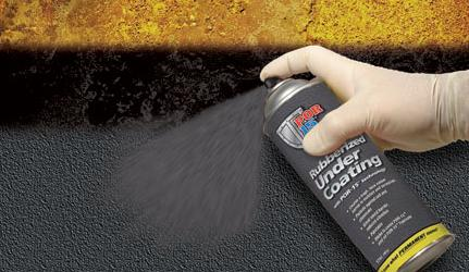 Por 15 49308 Rubberized Black Undercoating 1 17oz