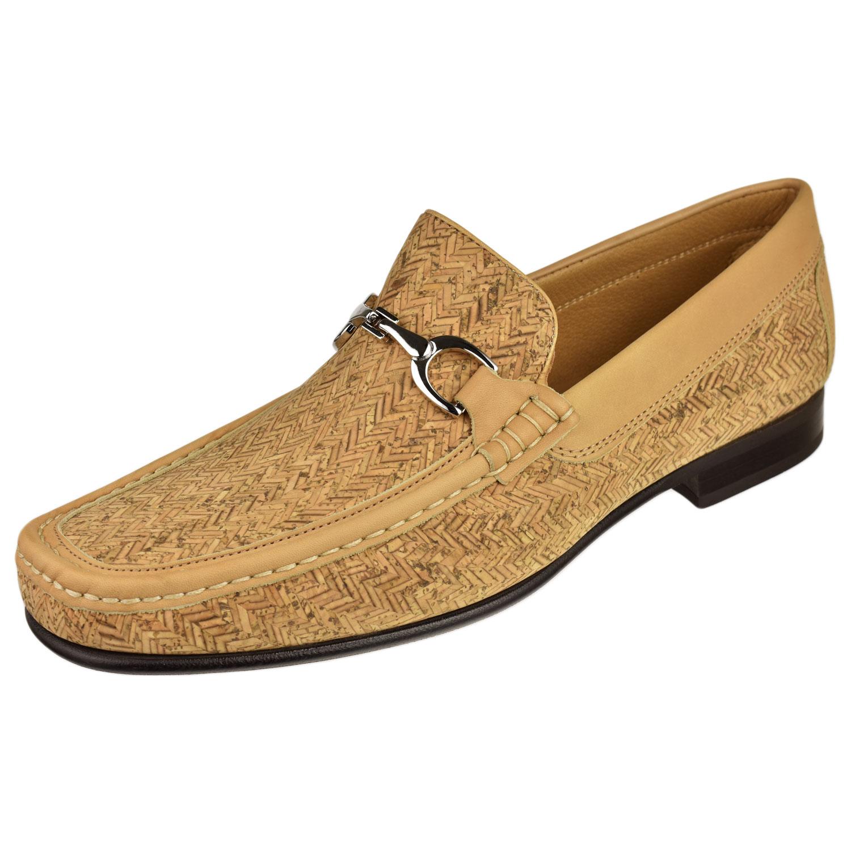 68a935014bd Donald Pliner Men s Shoes Darrin Cork Bit Loafer