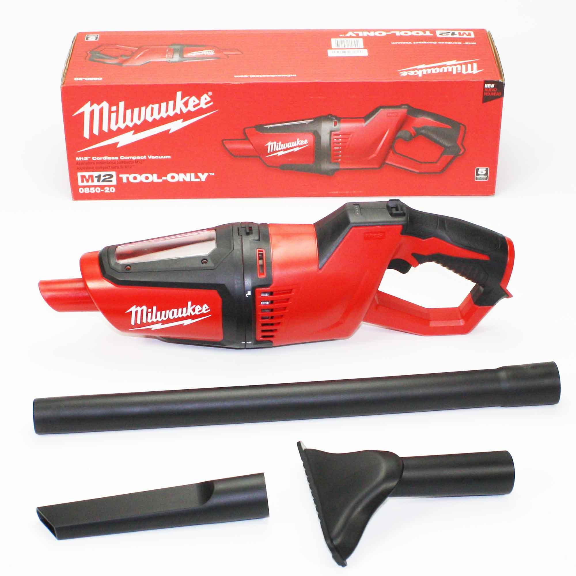 0850-20 Milwaukee M12 Vac-Tool Only