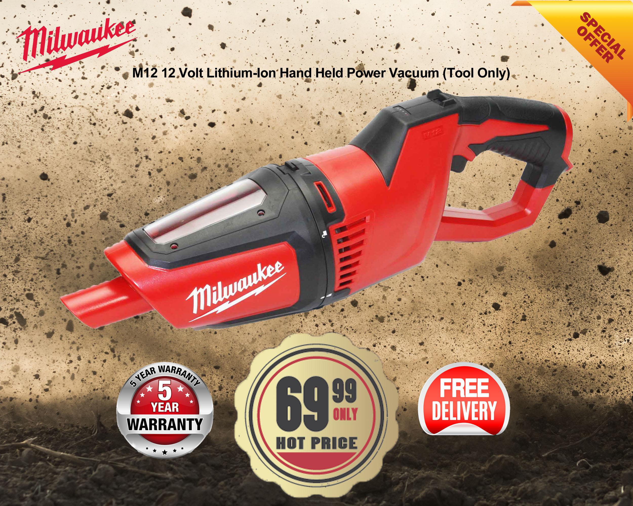 0850-20 Milwaukee Handheld Vacuum