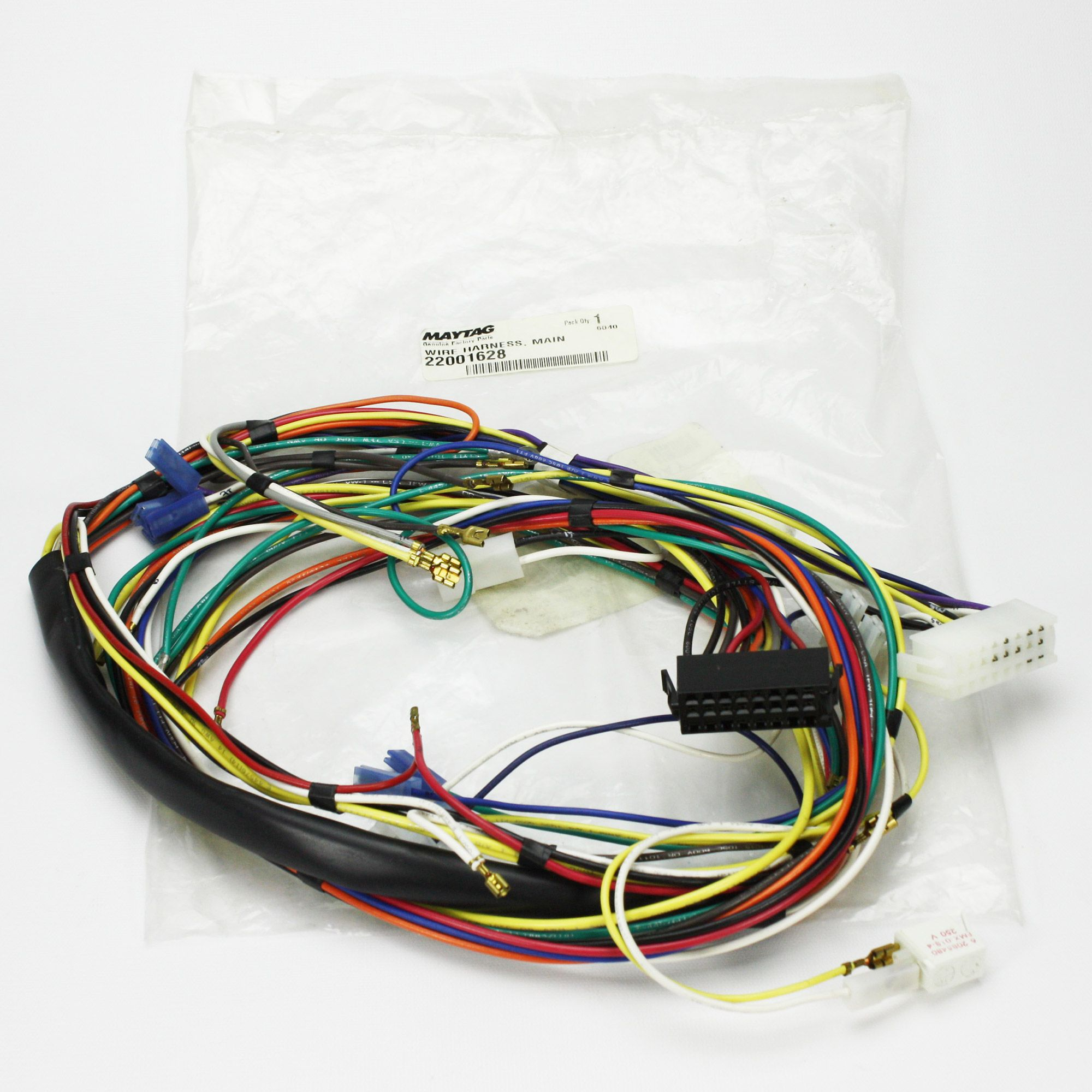 Washing Machine Wiring Harness Example Electrical Diagram Lg 22001628 Whirlpool Wire 648854929421 Ebay Rh Com General
