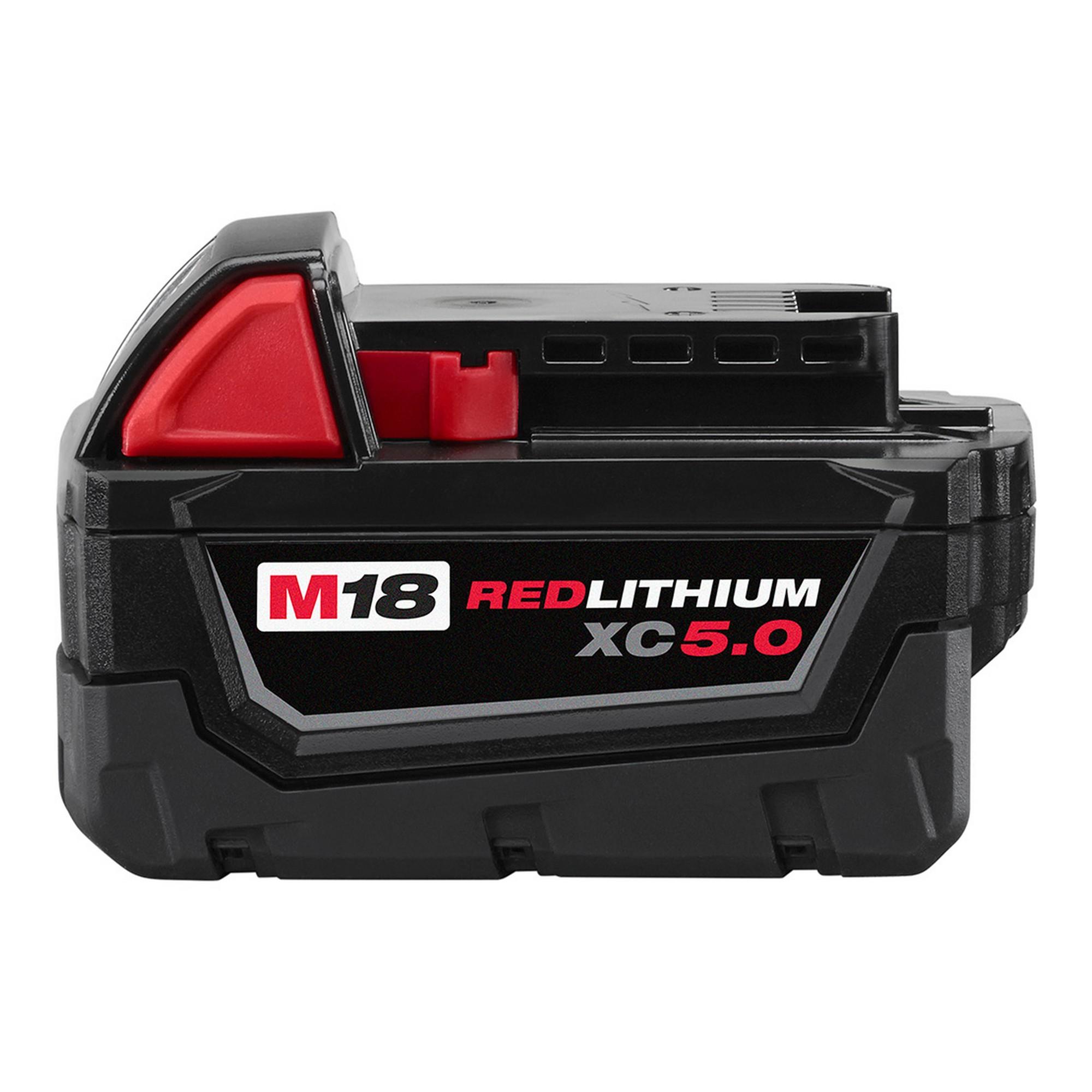 48-11-1850 Milwaukee M18 Redlithium 5.0Ah Bat Pack